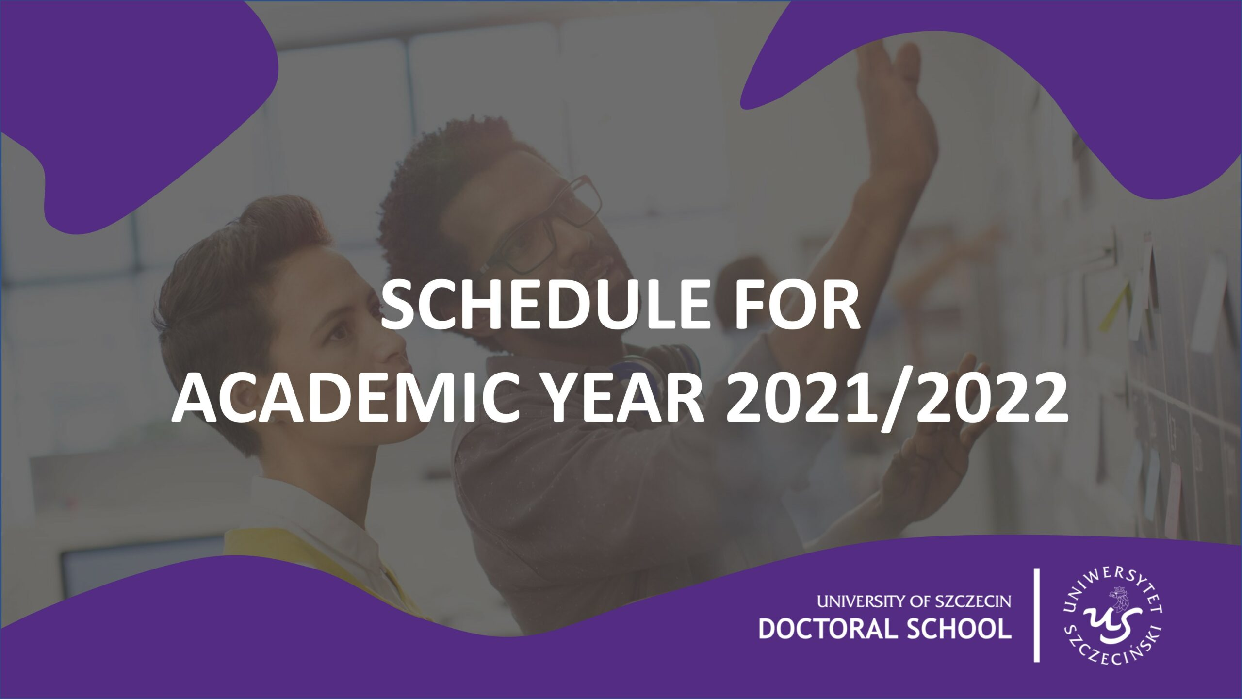 Schedule For Academic Year 2021/2022